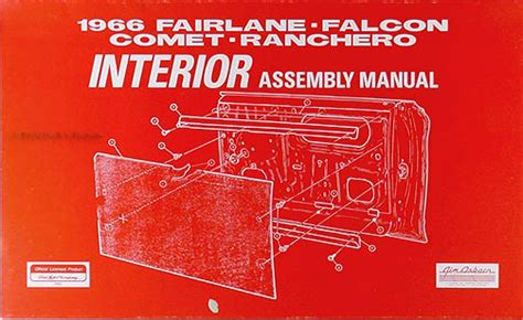 1966 ford falcon and ranchero owners manual canadian owner guide book ebay 1966 electrical assembly manual fairlane falcon ranchero comet caliente cyclone