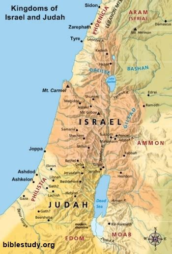 ancient map of jerusalem map of israel and judah