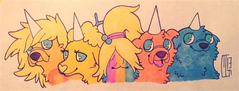 adventure time jake s puppies jake s puppies adventure time with finn and jake photo 33319895 fanpop