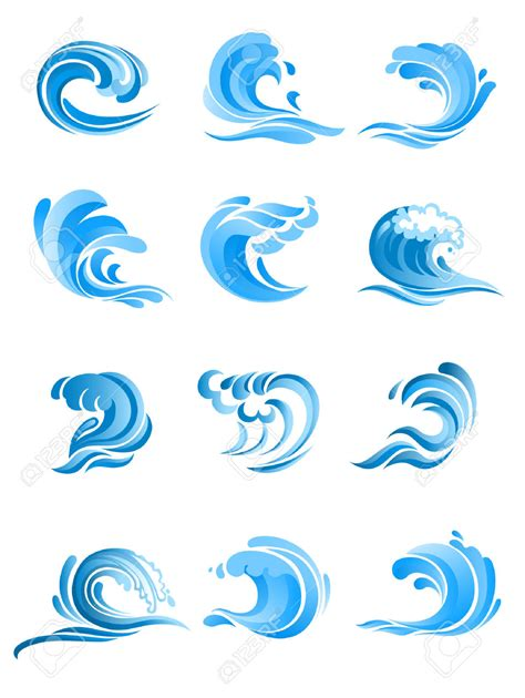 30 wave line drawing free cliparts that you can white crested waves clipart clipground