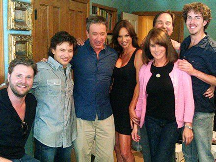 jonathan pictures with home improvement cast