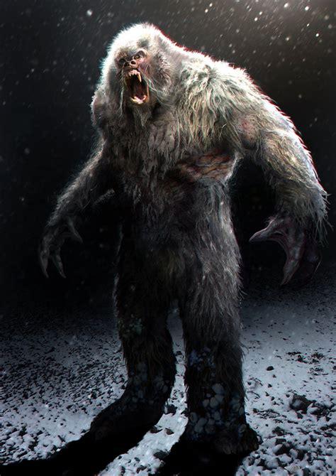 bigfoot 3 monster yeti daren horley on artstation at http www artstation