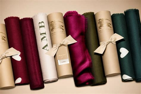 burberry launches scarf bar burberry mongrammed initials