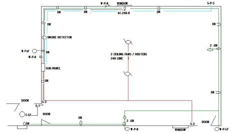 room wiring diagram wiring diagram and schematics