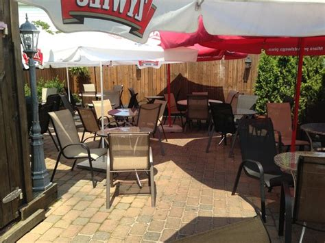restaurants with outdoor seating nj outdoor seating picture of linden new jersey tripadvisor