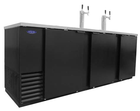 Nor Lake NLDD95 39.2cuft Five Keg Refrigerated Direct Draw