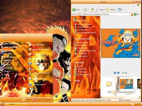 Naruto Themes For Xp | download naruto themes for windows xp