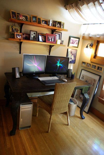 home monitor monitor desks and office spaces on
