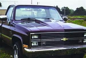 1981 1986 chevrolet c10 truck steel ram air cowl