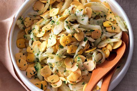 cucinare i lupini ricetta insalata di finocchi e lupini la cucina italiana