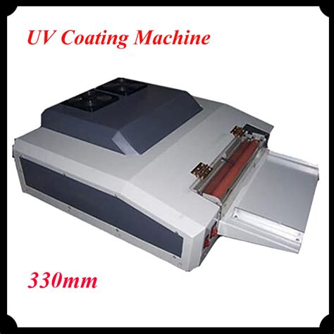 Mesin Laminasi Uv Coating 330 Mm 330mm uv coating machine uv varnish coater uv liquid