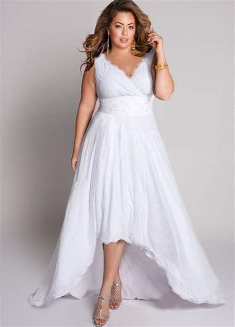 Informal Wedding Dresses by Cutethickgirls Plus Size Casual Wedding Dresses 05