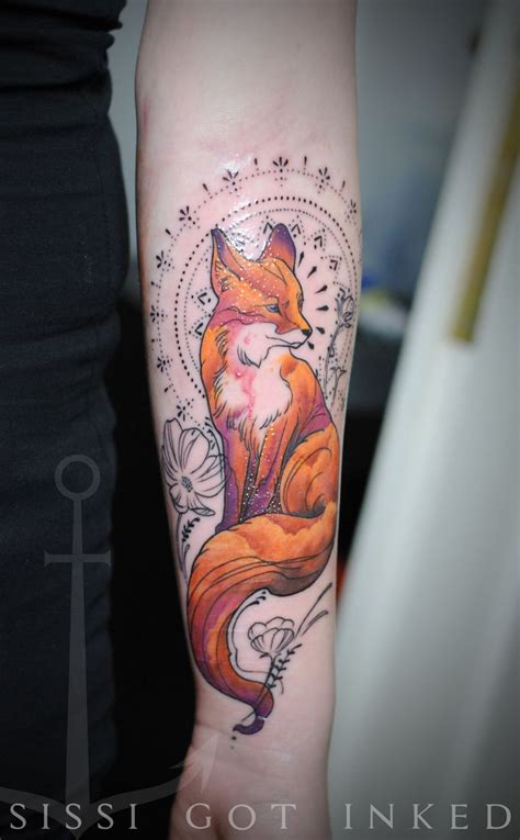 animal tattoo e piercing 318 best tattoos foxes images on pinterest