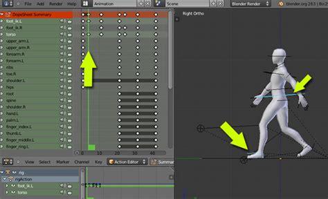 tutorial rigify blender create an animation walk cycle in blender using rigify