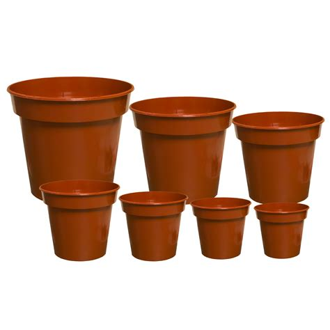 Planter Size by Plant Pots Terracotta Strong Quality Plastic Cactus House