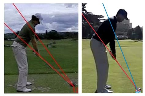 correct golf swing plane swing plane james irons golf