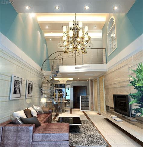 high ceiling living room lighting for living room with high ceiling design living