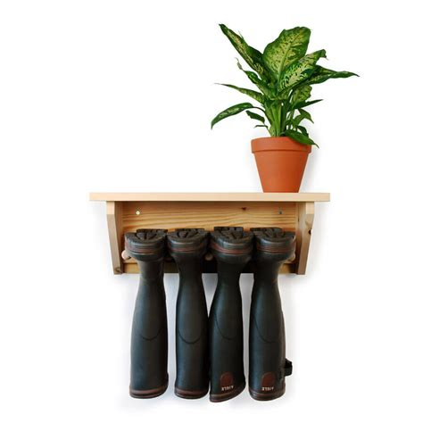 wall welly rack wall hanging welly rack 2 pair