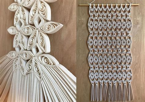 Paper Macrame - paper macrame by griffin carrick best of the web