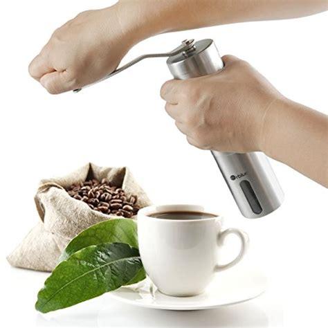 Special Offers Outdoor Ceramic Burr Coffee Grinder orblue ceramic burr manual coffee grinder home garden kitchen dining kitchen appliances food