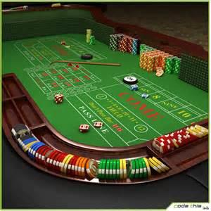 casino table craps table cg code this lab srl