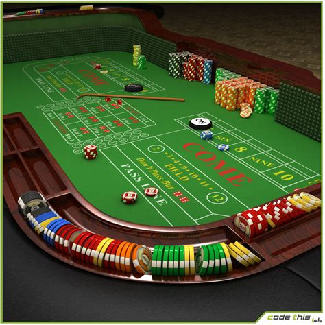 casino table craps table cg code this lab srl