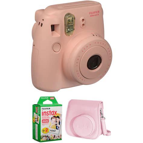 Instax Mini 8 Pink fujifilm instax mini 8 instant basic kit pink b h