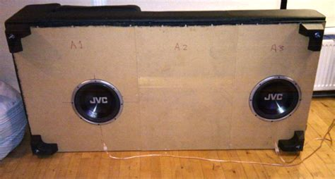 subwoofer under sofa diy the sofa is the sub page 3 home theater forum and