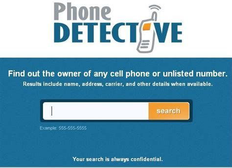 Free Cell Phone Number Lookup No Charge Cell Phone Detective Pro 1 Find Free No Charge