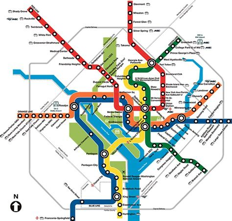 dc map metro washington dc metro transport maps