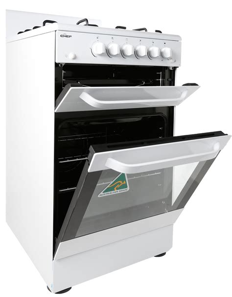 chef ovens and cooktops freestanding chef gas oven stove cfg515wa appliances