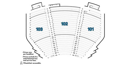 the mirage seating chart terry fator the voice of entertainment at the mirage