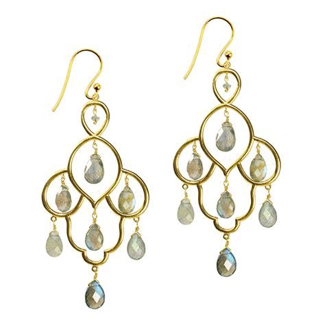 Layla Earrings layla earrings labradorite