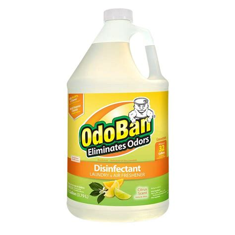 odoban 1 gal citrus odor eliminator and disinfectant multi purpose cleaner concentrate 911661 g