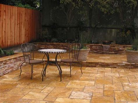 backyard tile ideas inspiring outdoor patio tile ideas 8 travertine tile