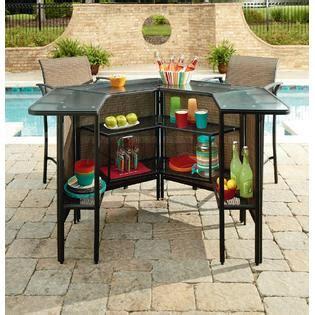 Harrison Patio Furniture Garden Oasis Harrison 5 Pc Outdoor Bar Set