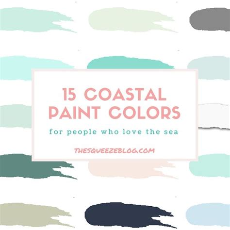 15 coastal paint colors the squeeze caribbean benjamin sea cap behr sparrow