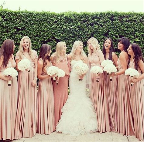 chagne colored bridesmaid dresses what bridesmaid dress chagne color wedding neutral