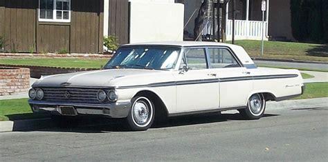 1962 Ford Galaxie 500 4 Door Sedan by Curbside Classic 1962 Ford Galaxie 500 Town Sedan Chrome