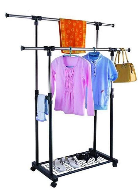 china pole telescopic stainless steel clothes rack