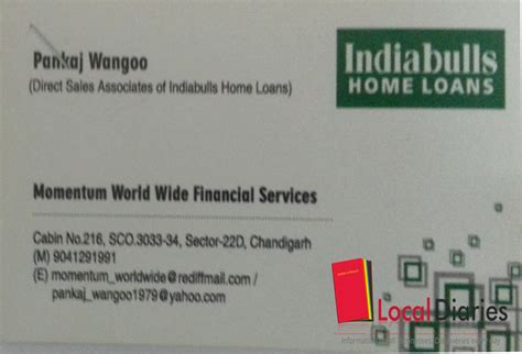 indiabulls housing loan financial consultants in chandigarh india local diaries