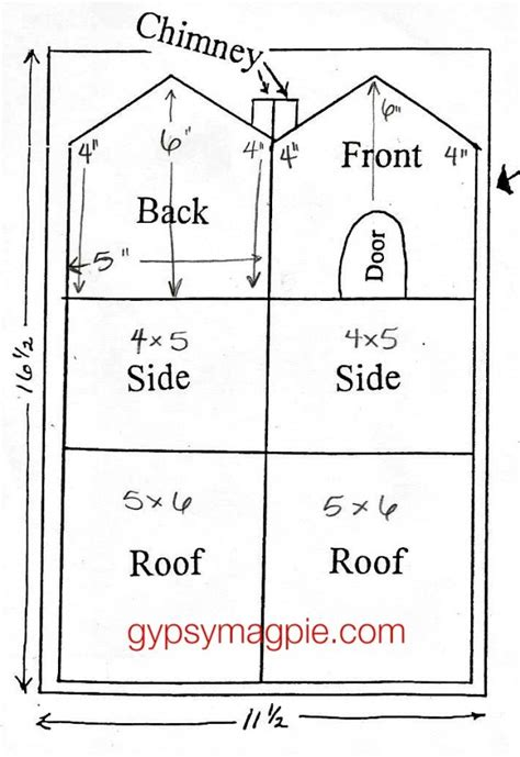 gingerbread house chimney template printable how to make an old fashioned gingerbread house gypsy