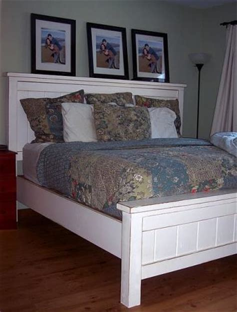 diy farmhouse bed from 2 ana white plans ana white build a farmhouse queen plans free and easy