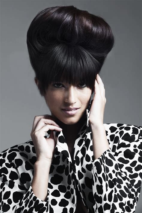 bouffant beauty salon videos fall winter 2012 hairstyles return to the classics