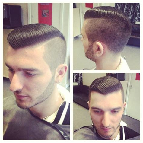 shaved part barber shop pinterest well done great looking cut with shaved part nicely