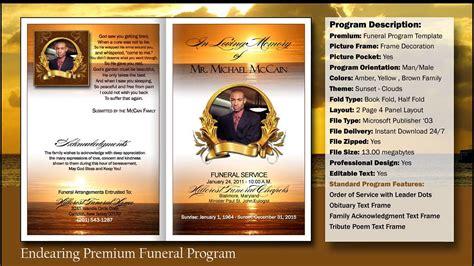 28 free editable funeral program template microsoft