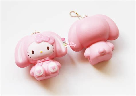 Squishy Hk 1 jumbo hello in a bunny costume squishy 183 uber tiny 183 store powered by storenvy