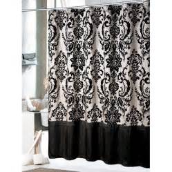Bathrom designs daphene shower curtain black shower curtain elegant