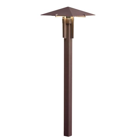 Kichler Led Path Lights Kichler Lighting 15803azt27r Pyramid Led Path Light In Textured Architectural Bronze