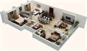 3bhk House Plan by 3bhk House Plan In 3d Design Pictures To Pin On Pinterest